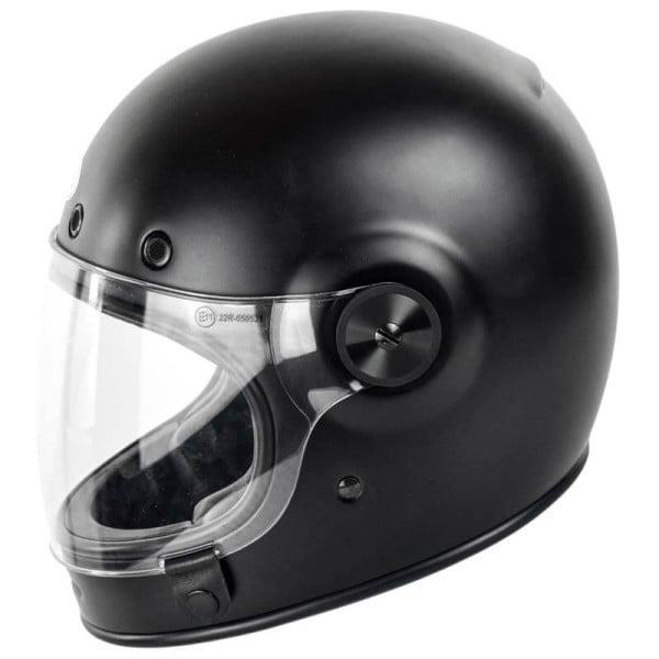 Casco Moto Vintage BELL HELMETS Bullitt Matte Black