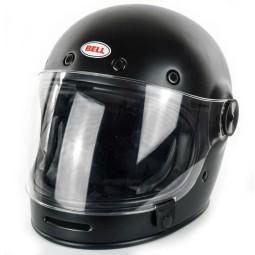Motorrad Helm Vintage BELL HELMETS Bullitt Matte Black ,Vintage Helme