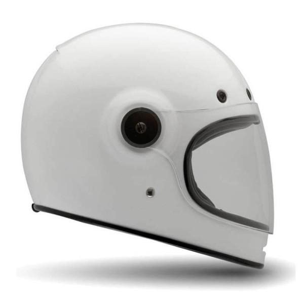 Casco Moto Vintage BELL HELMETS Bullitt Blanco
