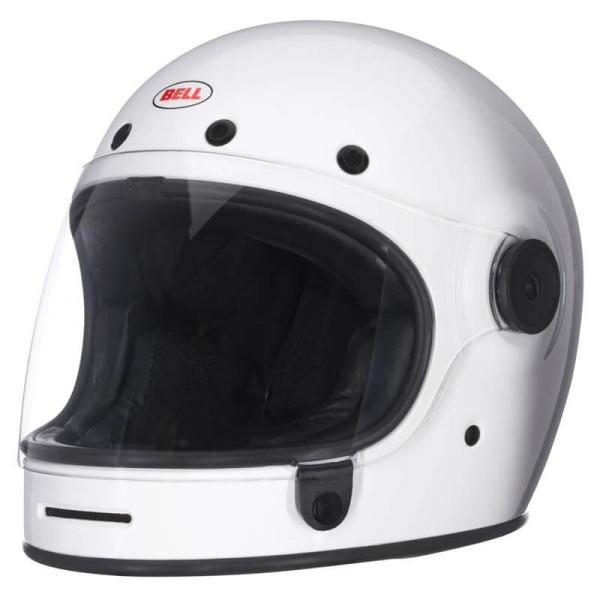Motorcycle Helmet Vintage BELL HELMETS Bullitt White