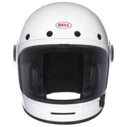 Motorrad Helm Vintage BELL HELMETS Bullitt Weiss