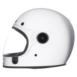 Casco Moto Vintage BELL HELMETS Bullitt Bianco, Caschi Vintage