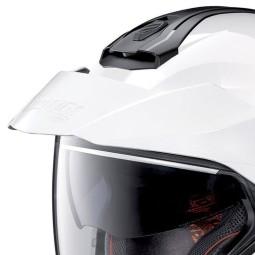 Casco Moto Jet Nolan N40-5 Classic Metal White, Caschi Jet