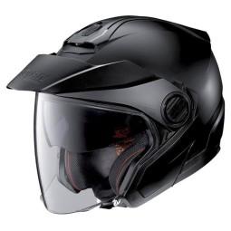 Motorrad Helm Jet Nolan N40-5 Classic Flat Black