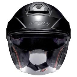 Motorrad Helm Jet Nolan N40-5 Classic Flat Black ,Jet Helme