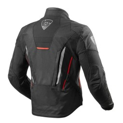 Motorcycle Fabric Jacket REVIT Vapor 2 Black Red ,Motorcycle Textile Jackets