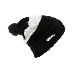 Motorcycle Beanie ROEG Moto Co Averell Black White ,Beanies / Hats