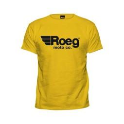 T-shirt ROEG Moto Co OG TEE Gelb