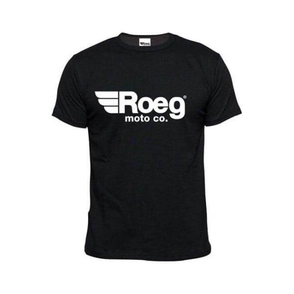 T-shirt ROEG Moto Co OG TEE Negro