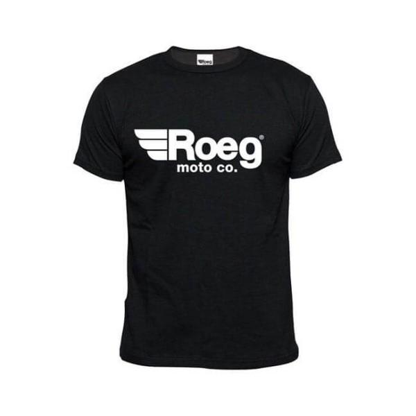 T-shirt ROEG Moto Co OG TEE Nero, T-Shirts