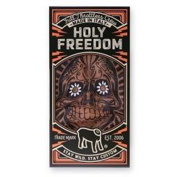 Bandana tubolare moto Holy Freedom Tunnel Golden Skull, Accessori