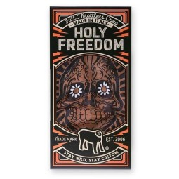 Foulard tubulaire moto Holy Freedom Tunnel Golden Skull