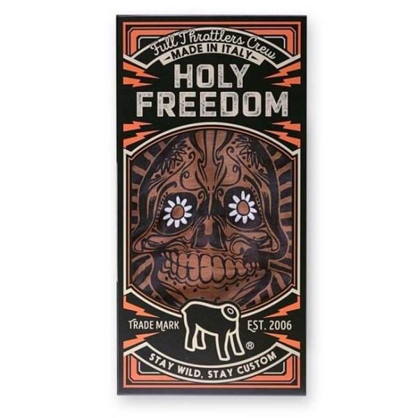Motorrad-Schlauchschal Holy Freedom Tunnel Golden Skull