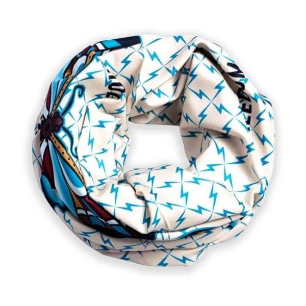 Foulard tubulaire moto Holy Freedom Stretch Tunnel Butterfly