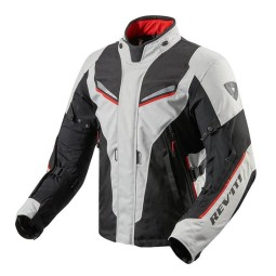 Motorcycle Fabric Jacket REVIT Vapor 2 Silver Black ,Motorcycle Textile Jackets
