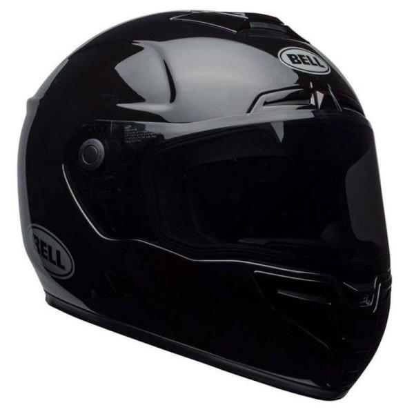 Motorrad Integral Helm BELL HELMETS SRT Gloss Black