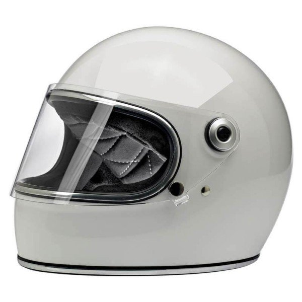 Casco Moto Vintage BILTWELL Gringo S Gloss White