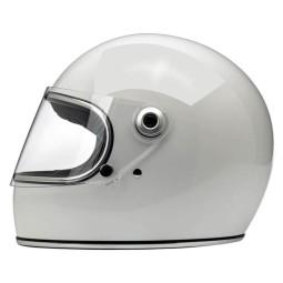 Motorcycle Helmet Vintage BILTWELL Gringo S Gloss White ,Vintage Helmets