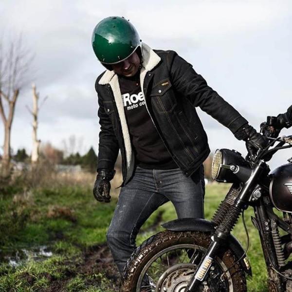 Chaqueta de jeans ROEG Moto Co STICKY