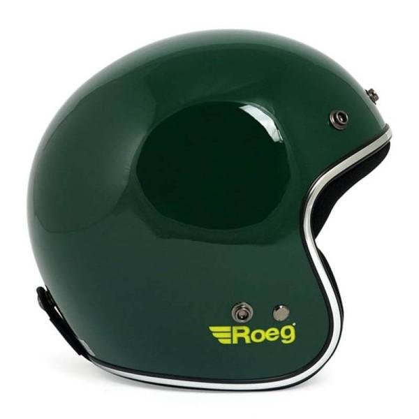 Motorrad Helm Vintage ROEG Moto Co JETT Green