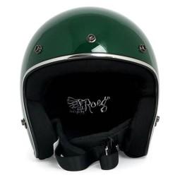Motorrad Helm Vintage ROEG Moto Co JETT Green ,Jet Helme