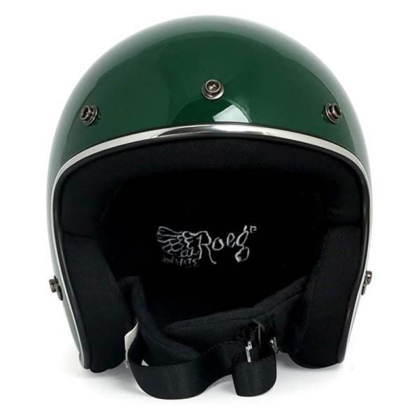 Casco Moto Vintage ROEG Moto Co JETT Green