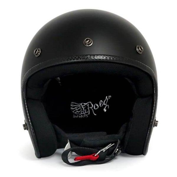 Casco Moto Vintage ROEG Moto Co JETT Matte Black