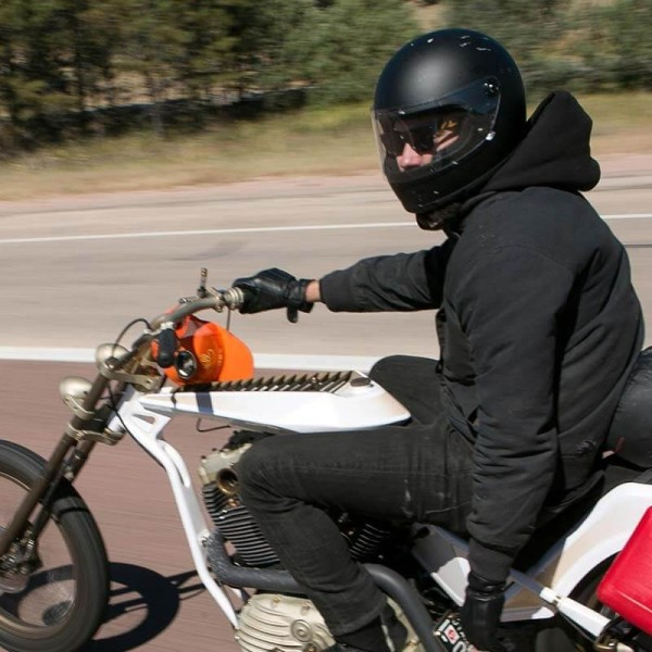 Casque Moto Vintage BILTWELL Gringo S Flat Black