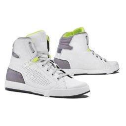 Scarpe Moto FORMA Swift Flow White, Calzature Moto Urban