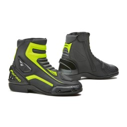 Motorcycle Boot FORMA Axel Black Fluo ,Motorcycle Racing Boots