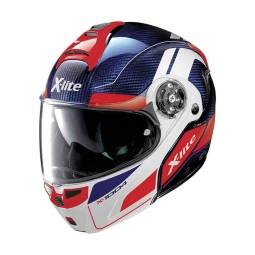 Motorcycle Helmet Modular X-lite X-1004 Ultra Carbon Charismatic 12