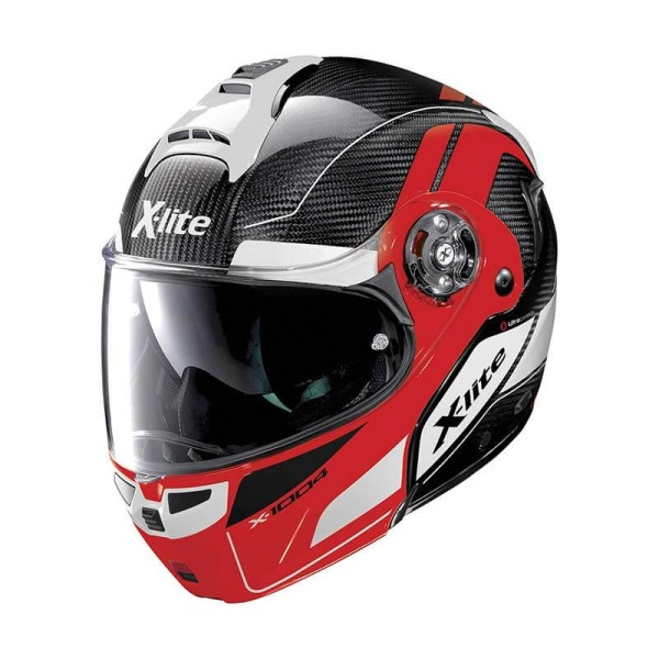 Motorcycle Helmet Modular X-lite X-1004 Ultra Carbon Charismatic 15