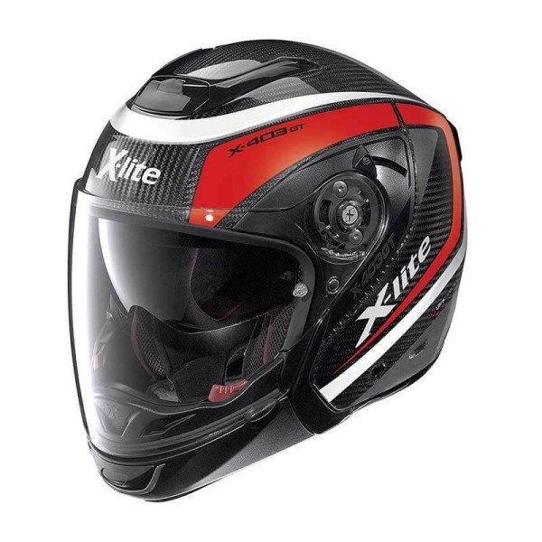 Casque Moto Modulable X-lite X-403 GT Carbon Meridian Red