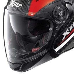 Casco Moto Modulare X-lite X-403 GT Carbon Meridian Red
