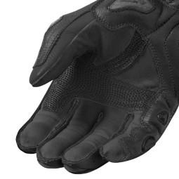 Motorrad-Handschuhe REVIT Jerez 3 Schwarz ,Motorrad Lederhandschuhe