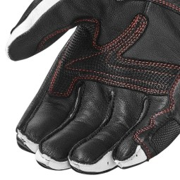 Motorcycle Leather Gloves REV'IT Stellar 2 Black Red ,Motorcycle Leather Gloves