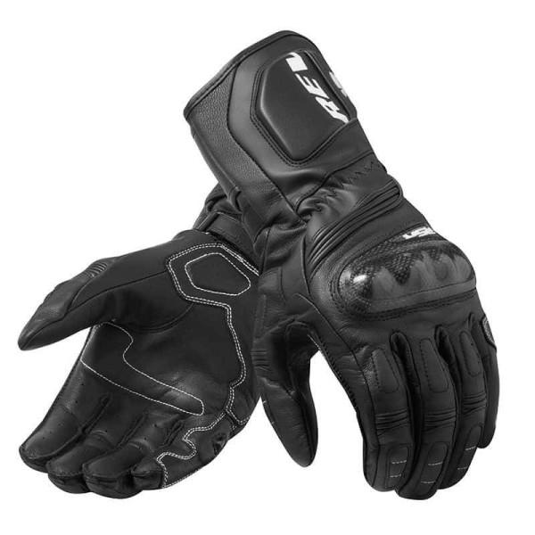 Motorrad-Handschuhe REVIT RSR 3 Schwarz