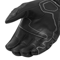 Motorcycle Leather Gloves REVIT RSR 3 Black