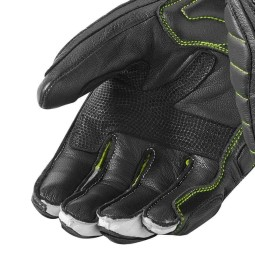 Motorrad-Handschuhe REVIT Chicane Schwarz Neon Gelb ,Motorrad Lederhandschuhe