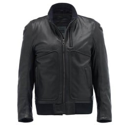 Motorcycle Leather \nJacket BLAUER HT Thor 1.0 Black ,Leather Motorcycle Jackets