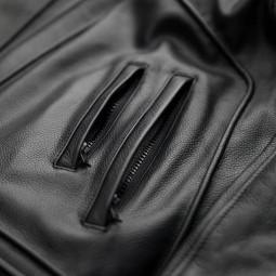 Blouson Moto Cuir BLAUER HT Thor 1.0 Noir