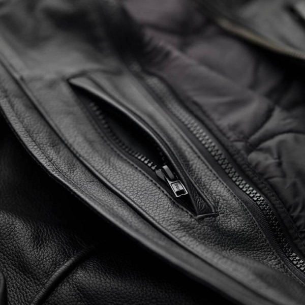 Motorcycle Leather \nJacket BLAUER HT Thor 1.0 Black