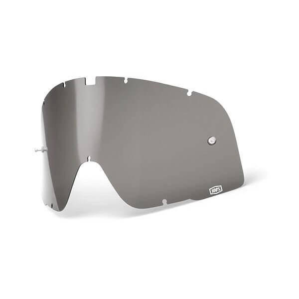 Linse Motorradbrille 100% Barstow Rauch