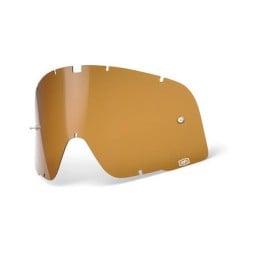 Lentille Lunettes Moto 100% Barstow Bronze, Lunettes Moto