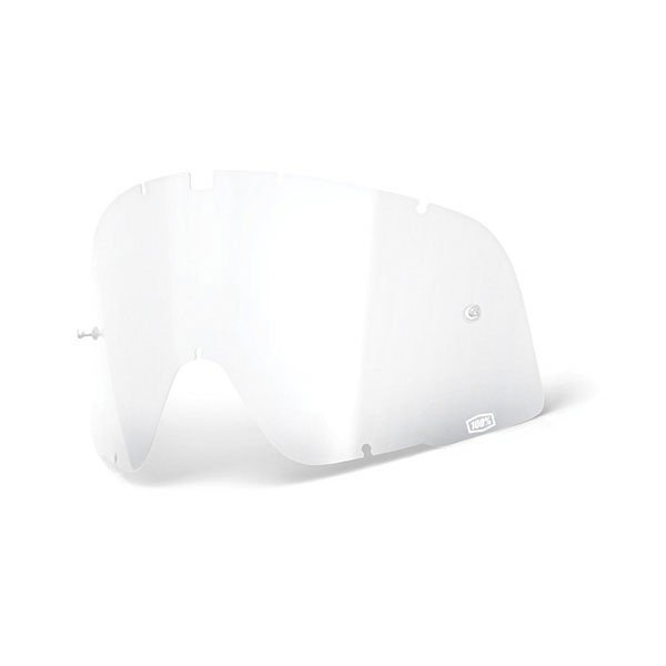 Lens Motorcycle Goggles 100% Barstow Clear