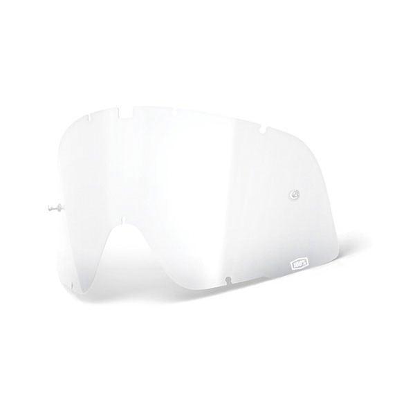 Lente Occhiali Moto 100% Barstow Trasparente, Occhiali / Maschere Moto