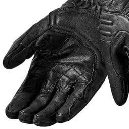 Motorradhandschuhe Leder REVIT Monster 2 Schwarz Frau ,Motorrad Lederhandschuhe