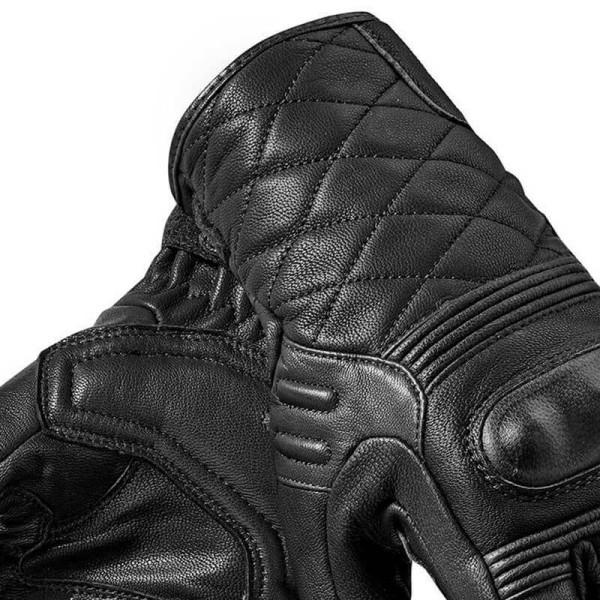 Gants moto en cuir REVIT Monster 2 Noir Femme