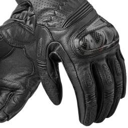 Gants moto en cuir REVIT Chevron 2 Femme Noir