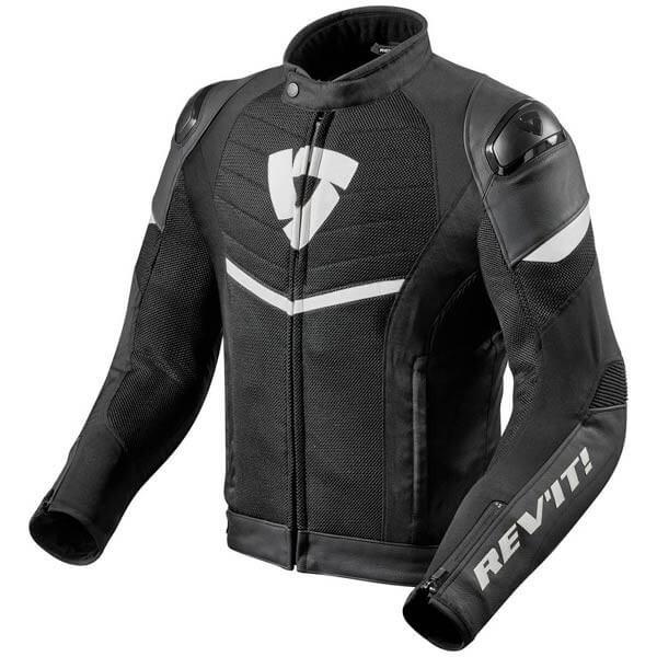 Blouson Moto REVIT Mantis Noir Blanc